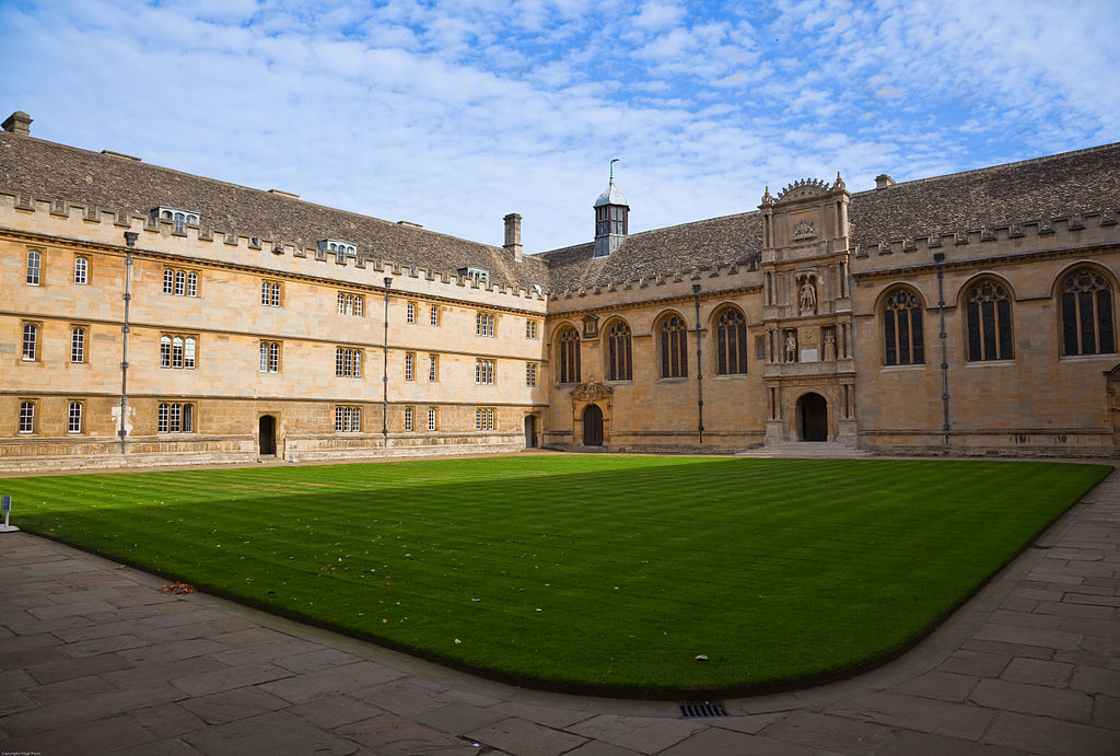 Wadham College, Oxford.